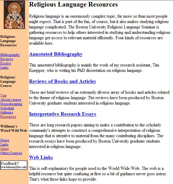 make annotated bibliography website
