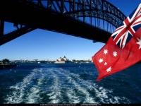 Australian Flag, Sydney, Australia, 1996.jpg